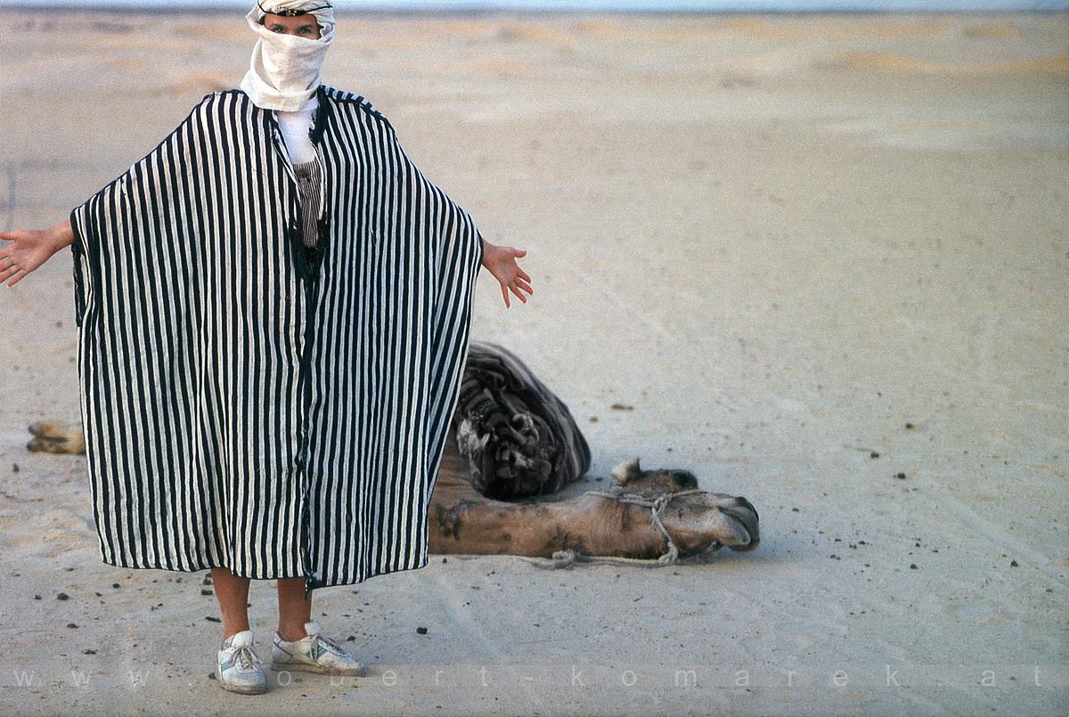 It Was A Long Ride Indeed - Chott el Jérid / Tunisia 1996