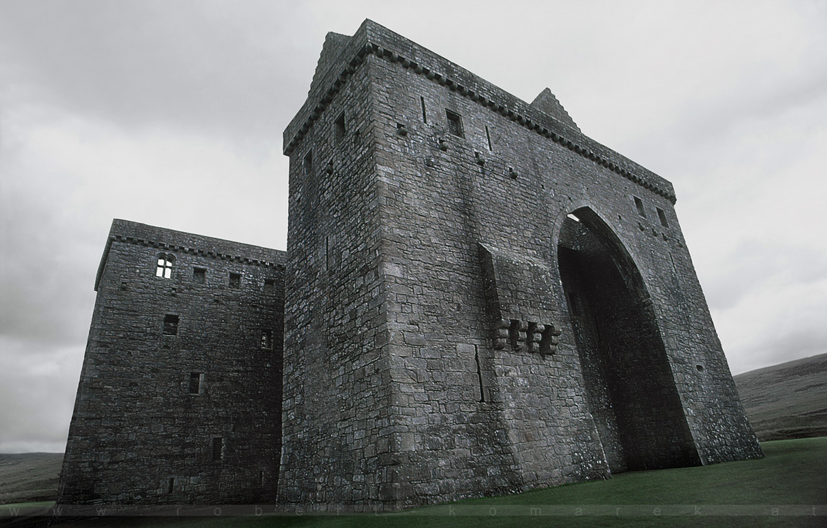 Solid State - Hermitage Castle, Borders, Scotland / UK 1984