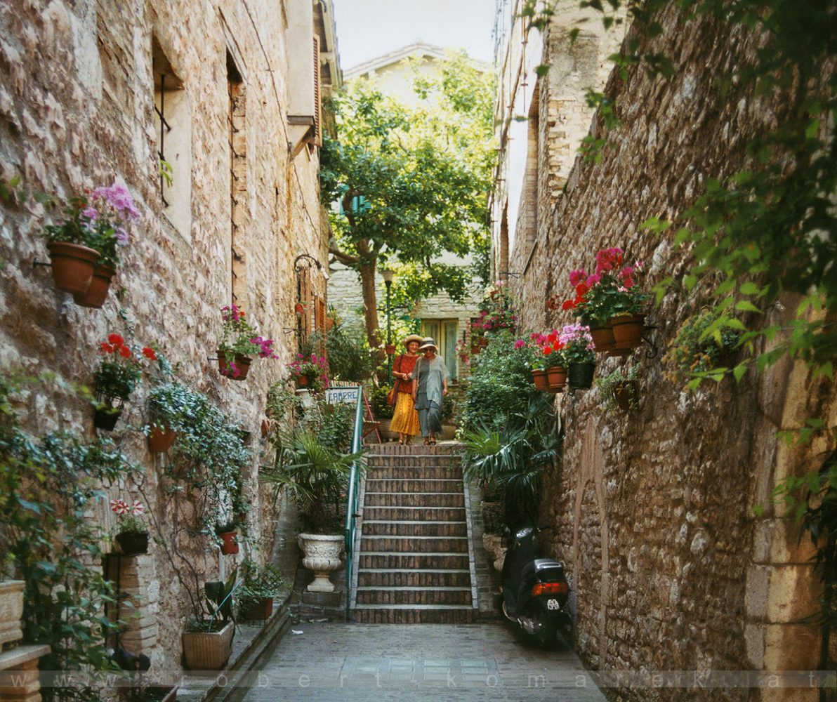 The Bearable Lightness of Being - Assisi, Umbria / Italy 1999