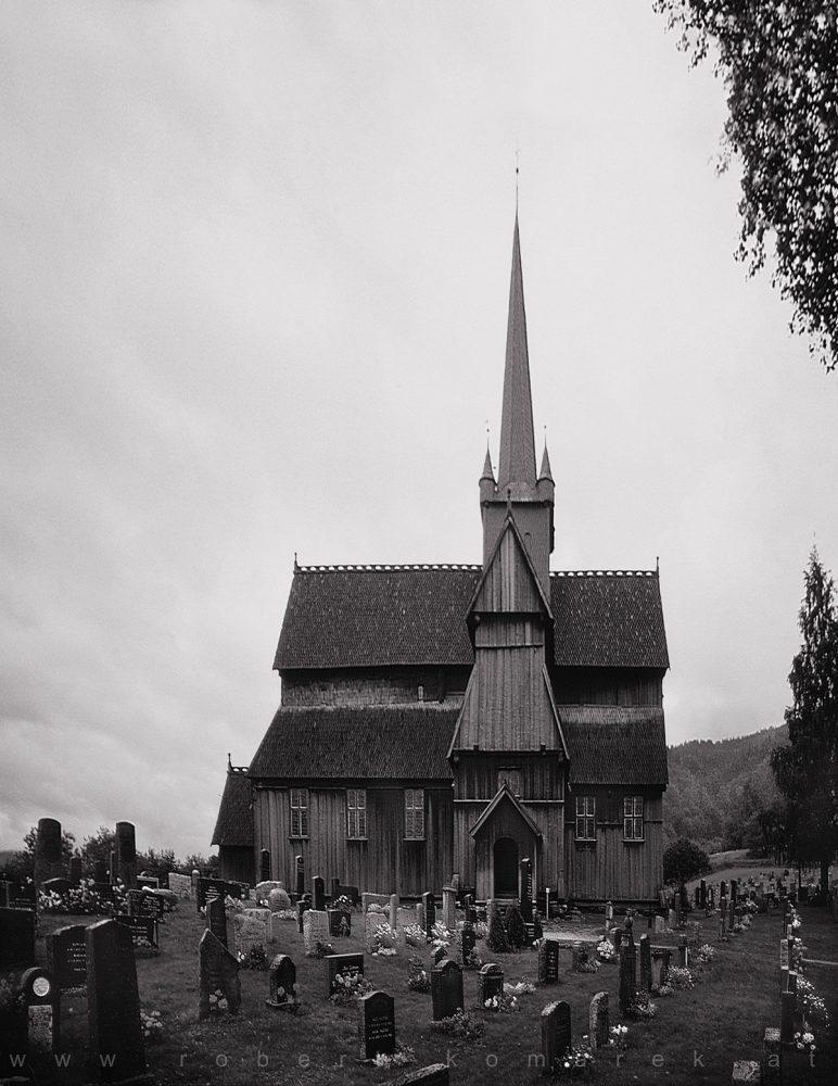Peaked - Ringebu Stave Church, Fylke Oppland / Norway 1989