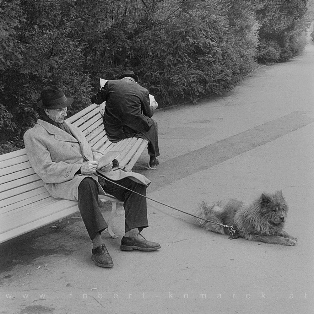 Two Men One Dog - Vienna 1973
