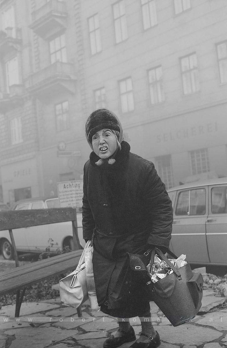Snotty-nosed brat! ~ Rotzbua! - Vienna 1972
