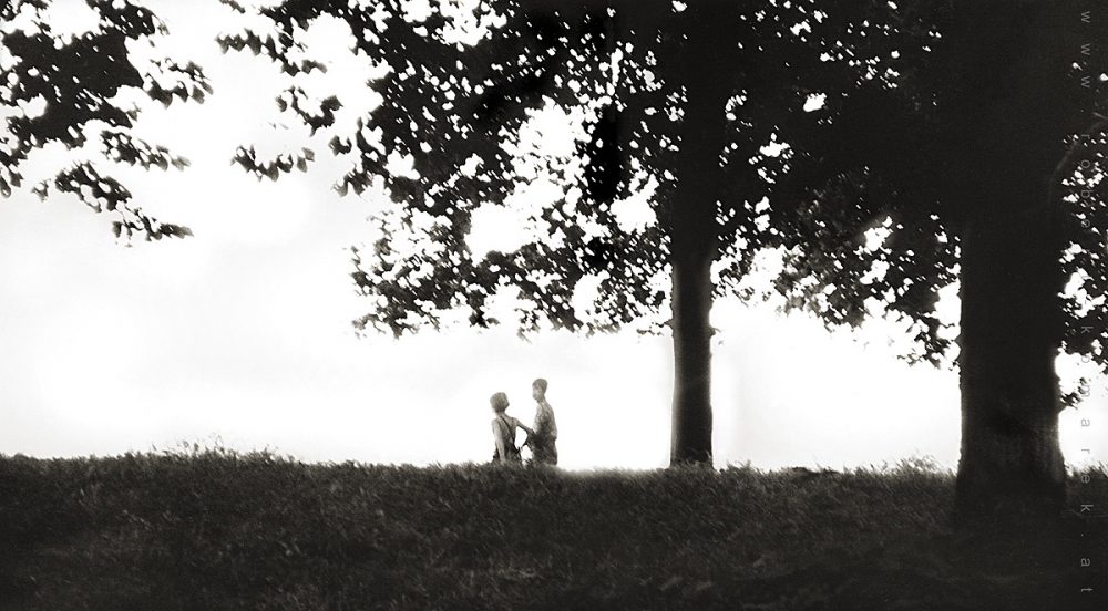 Childhood - Vienna 1971. Probably my first conceived shot ever.