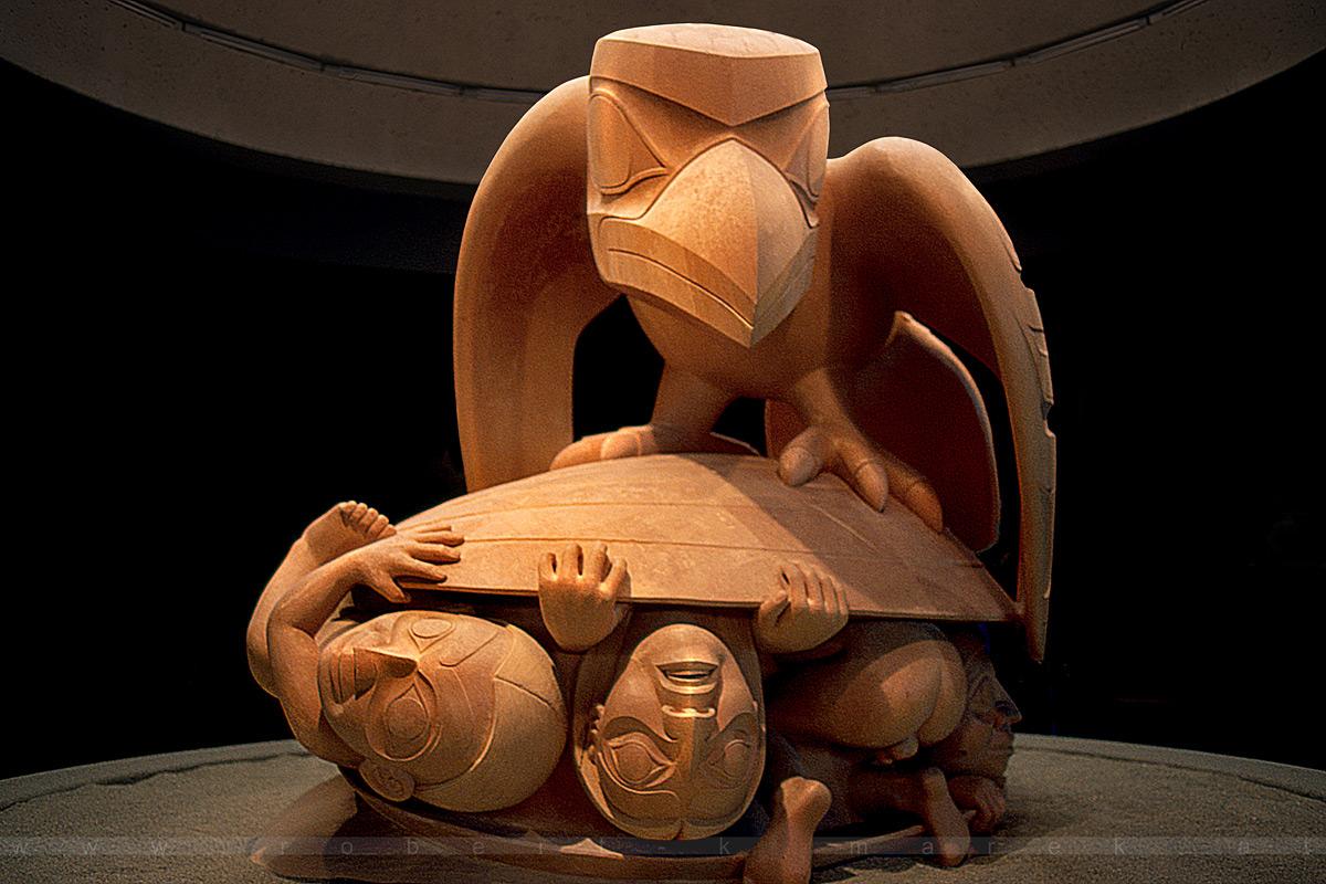The Birth of Mankind - Vancouver, British Columbia / Canada 2000
