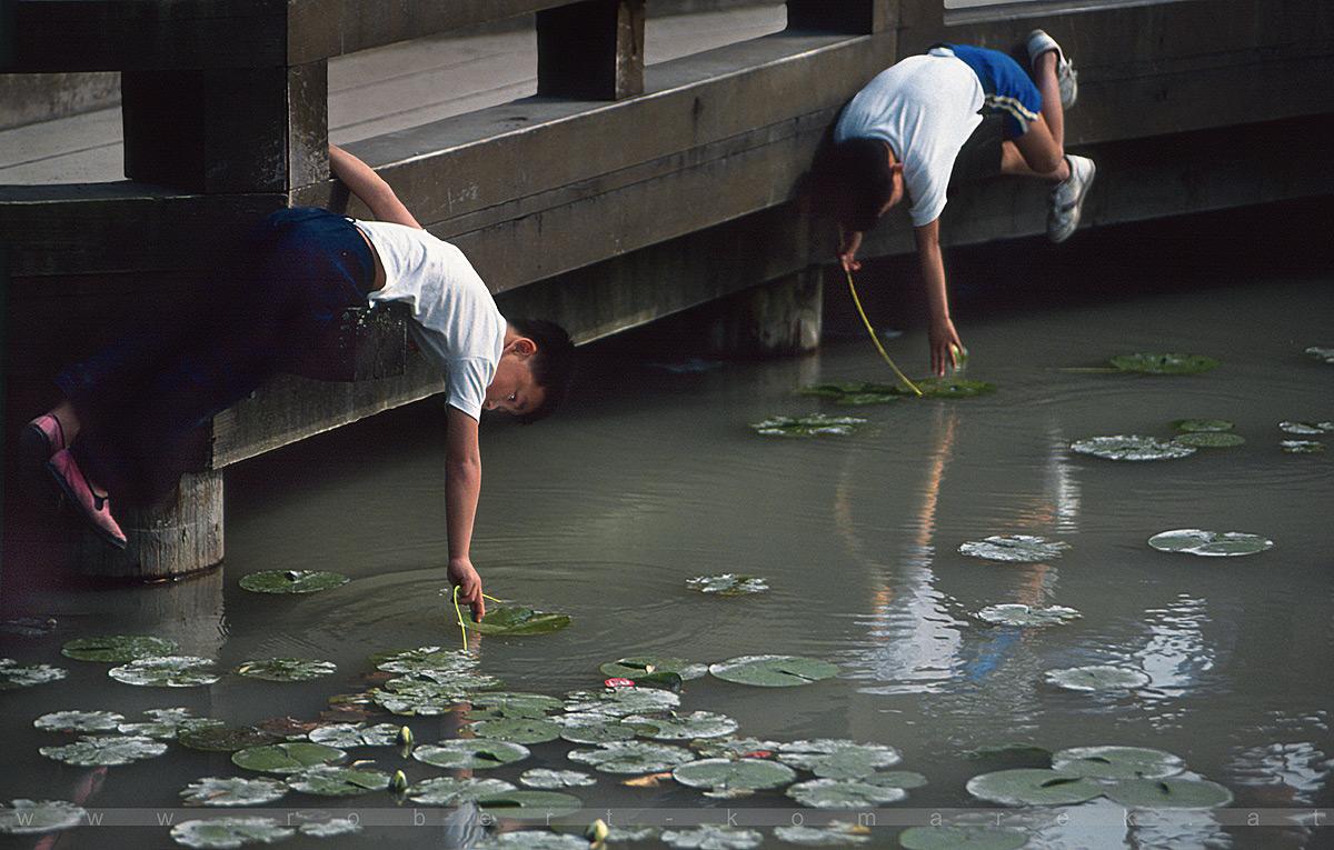 Dr. Sun Ya Tsen's Chinese Garden - Vancouver, British Columbia / Canada 1991
