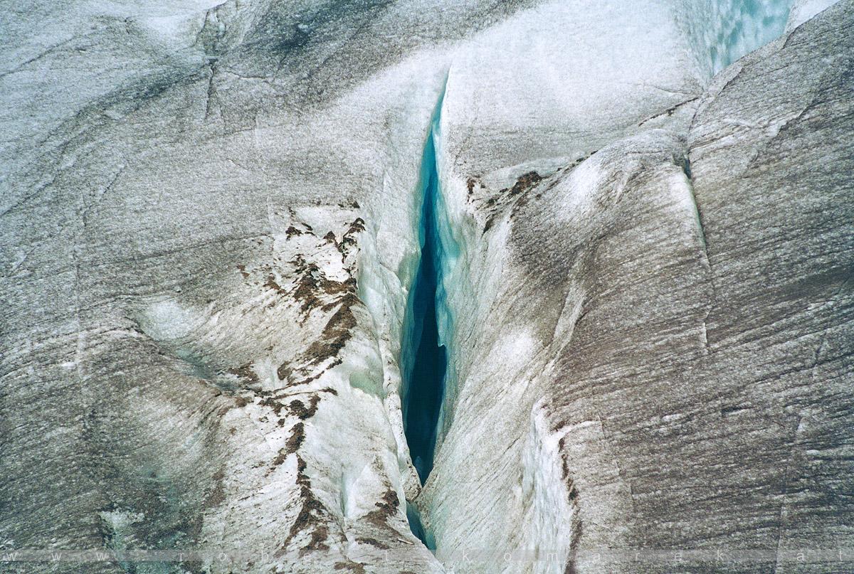 Ice Slot - Furka Pass, Rhône Glacier / Switzerland 2001