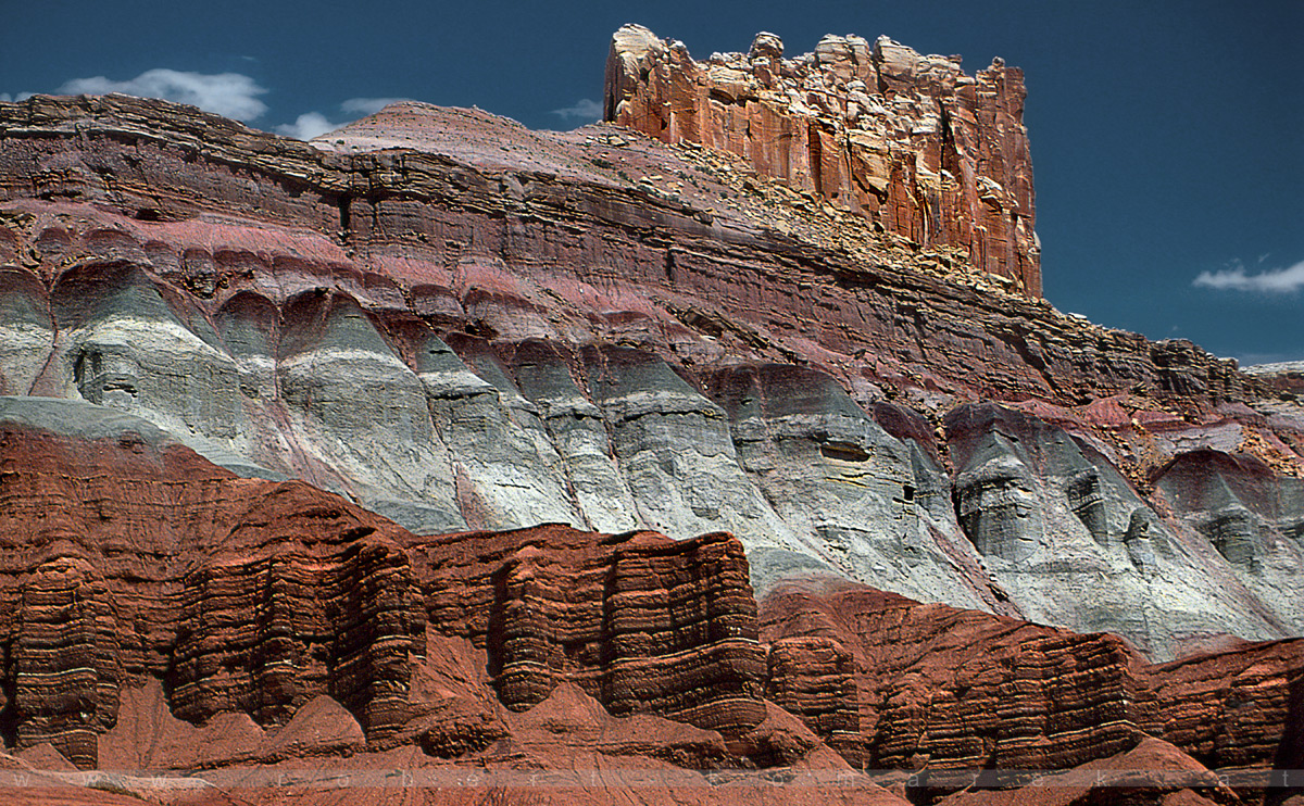 The Castle - Capitol Reef NP, Utah / U.S.A. 1992