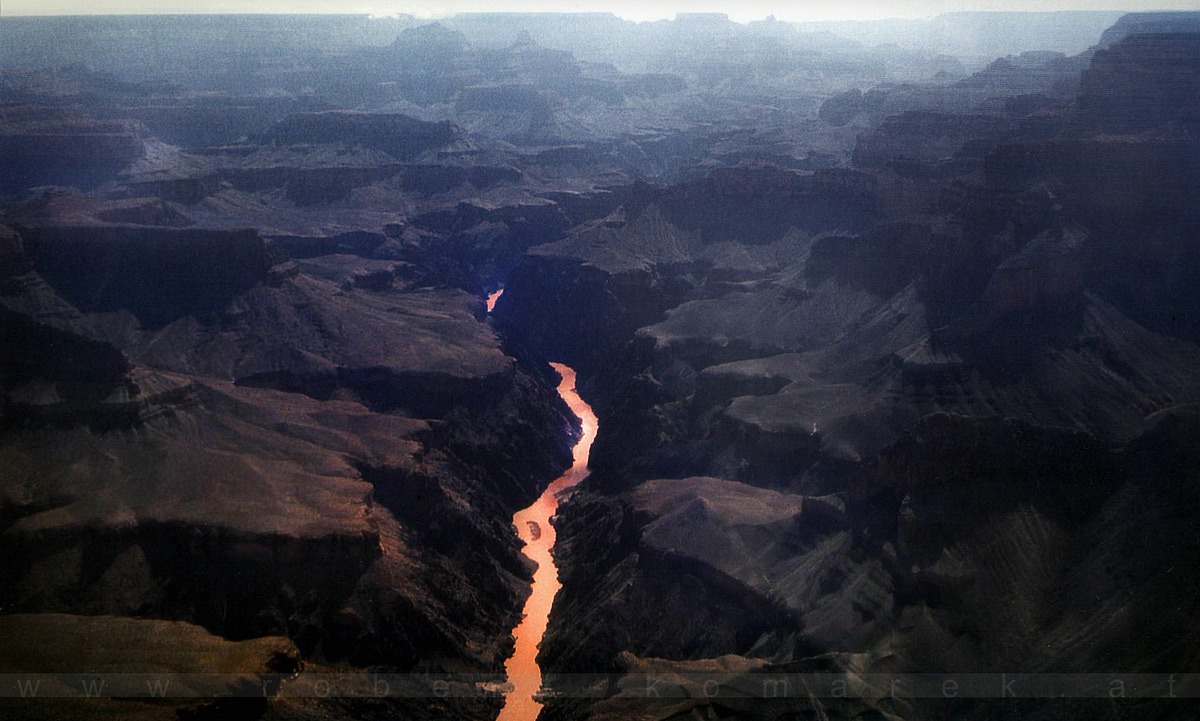 Copper - Grand Canyon / Colorado River, Arizona / U.S.A. 1992