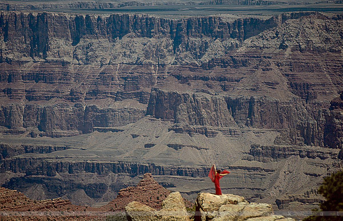 Dancing With Rocks - Grand Canyon, Arizona / U.S.A. 1992