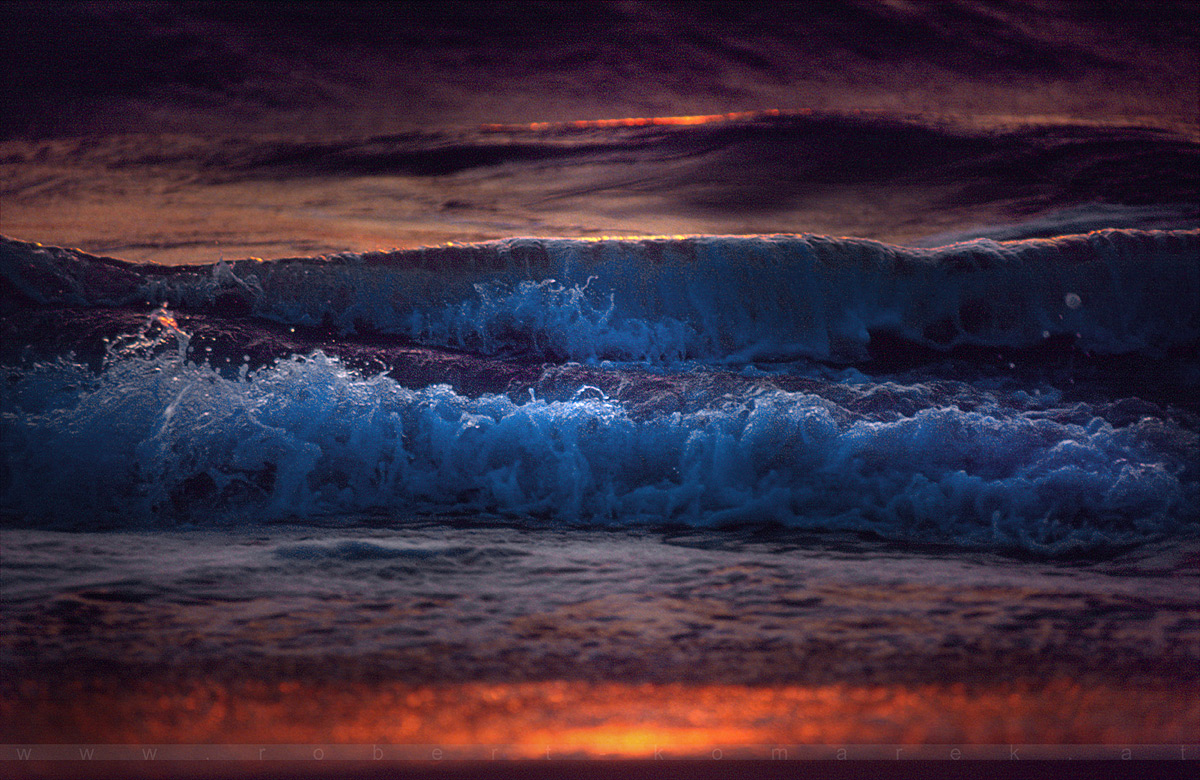 Ocean Colour - Virginia Beach, VA / U.S.A. 1995