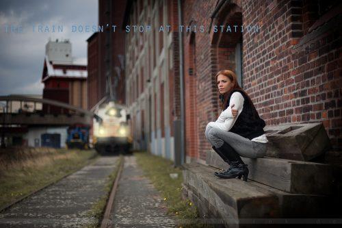 The Train © Sharon Robinson 2008